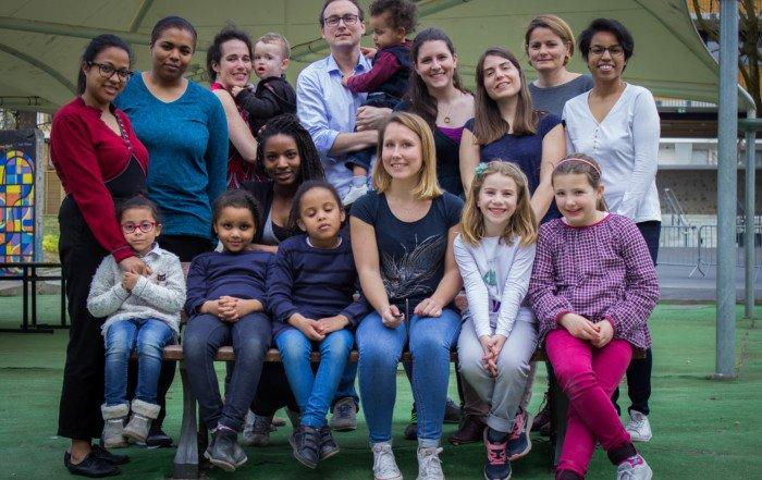 Les codeuses, les parents et les enfants de Lopica