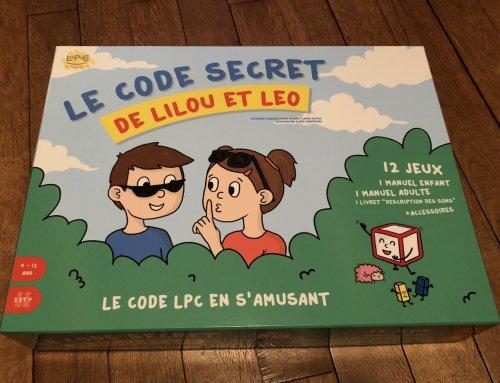 Commandez la boîte de jeux de Lilou et Léo !